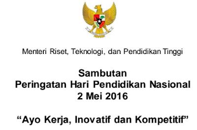 gambar Peringatan Hari Pendidikan Nasional Sambutan 2 Mei 2016