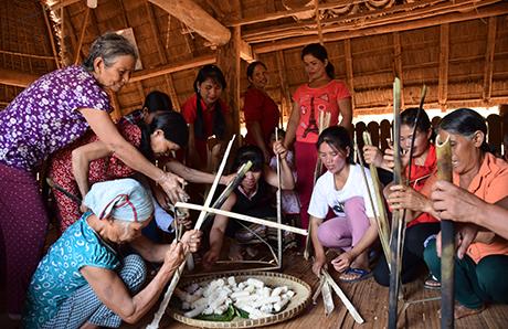 Dân làng Kon Braih tổ chức lễ hội Kă Pơ Lêh