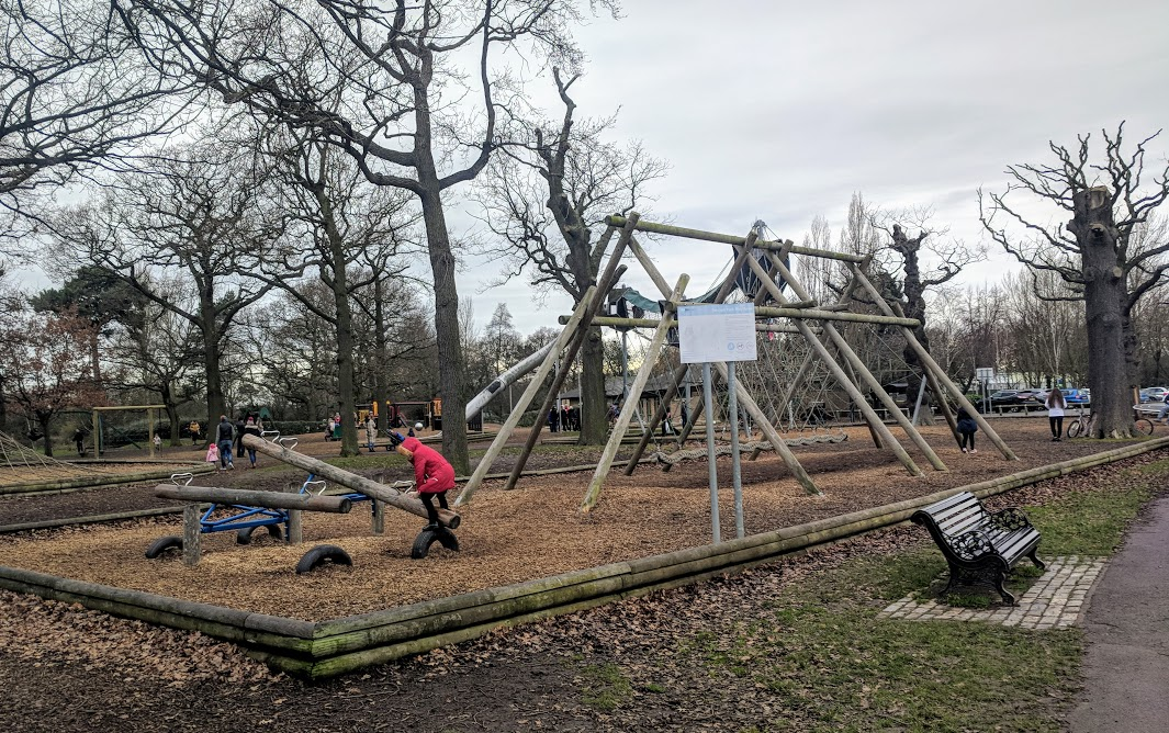 Preston Park - Behind the Seams | 10 reasons to visit with tweens and teens  - seesaws in the playground