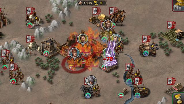 Screenshot Three Kingdoms Conqueror - Apcoid