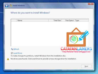 Install OS Windows Laptop menggunakan PC