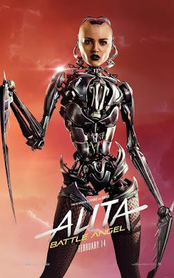 Alita Battle Angel Rosa Salazar Movie Poster 8
