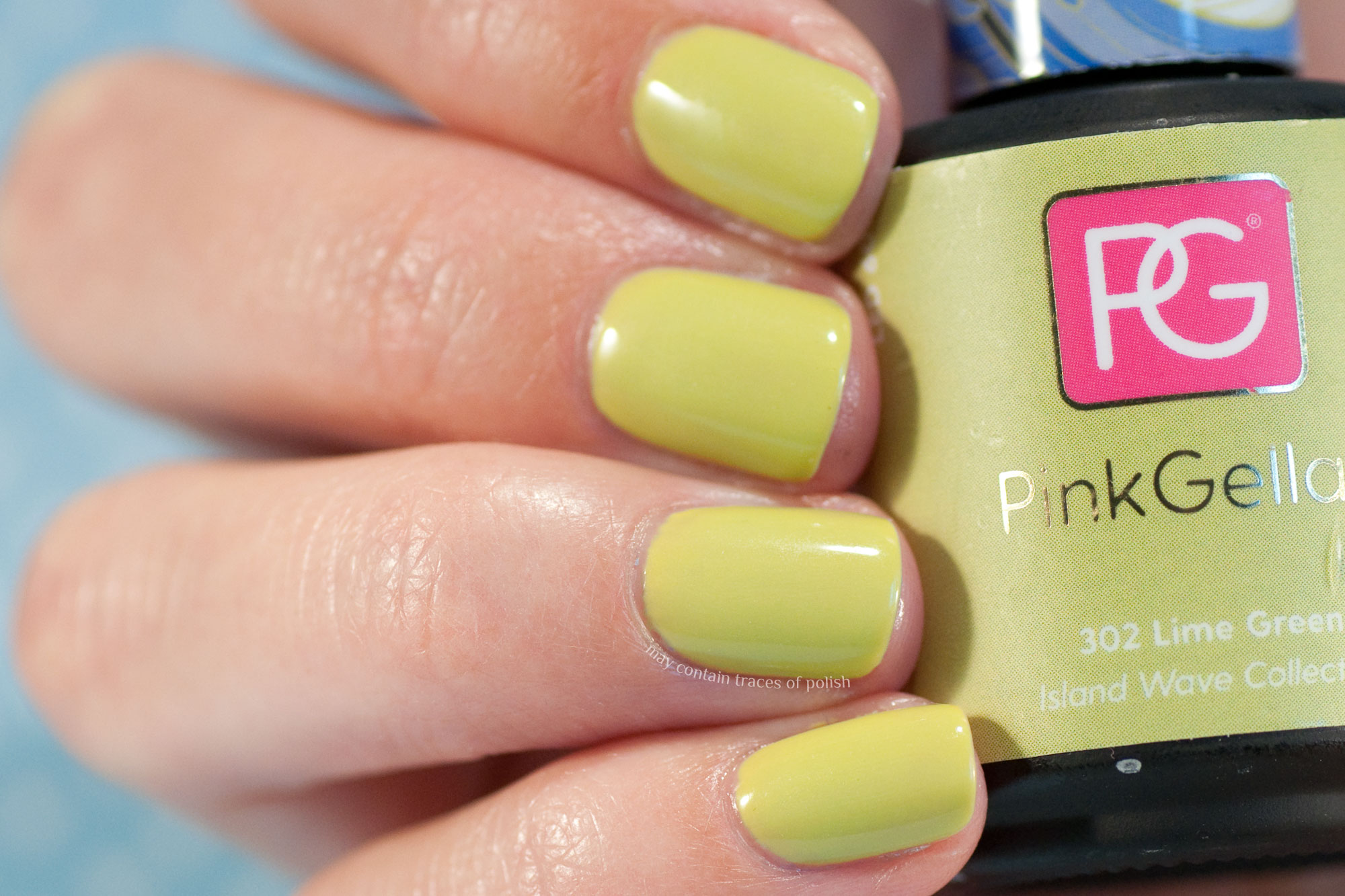 Pink Gellac 302 Lime Green - Island Wave Collection