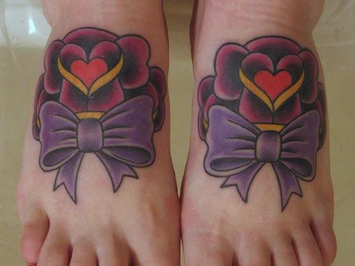 Bow Bonito Tatuagem Ideia