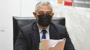 Ministro del Interior, José Elice, dio positivo al nuevo coronavirus