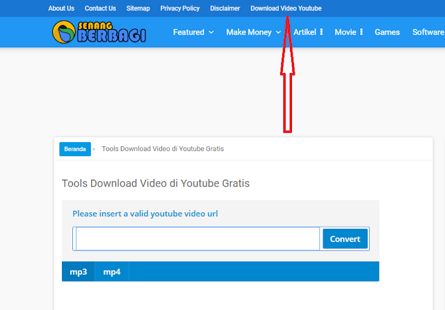 Membuat Tools Download Video Youtube di Blogspot