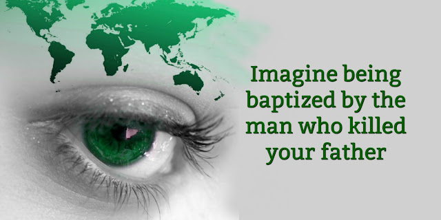 Steve Saint's life is a godly example of faith despite great adversity. Don't miss this short devotion about a man who was baptized by the man who killed his father. #BibleLoveNotes #SteveSaint #Bible
