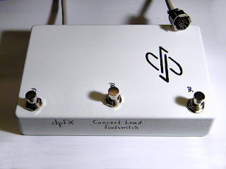 dpFX Sunn Concert Lead footswitch with 7-pin connector