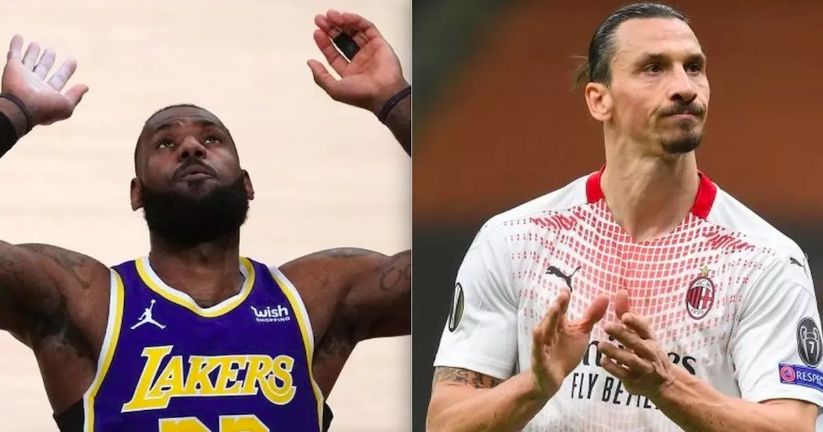 LeBron James Criticises Ibrahimovic After Being Told To 'Keep Politics Out Of Sport'