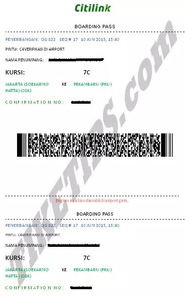 boarding pass citilink