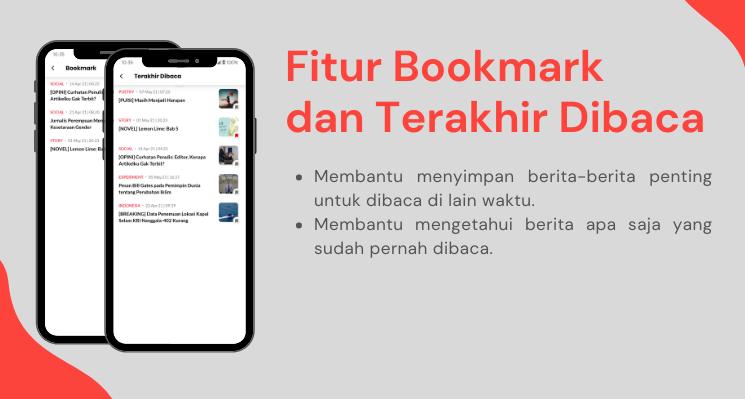 Fitur Bookmark dan Terakhir Dibaca