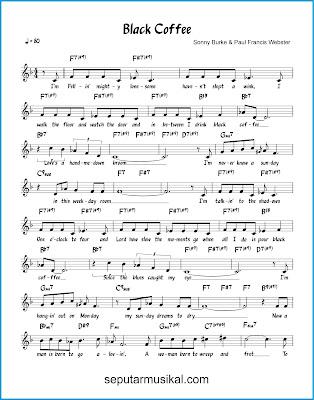 Black Coffee 1 chords jazz standar