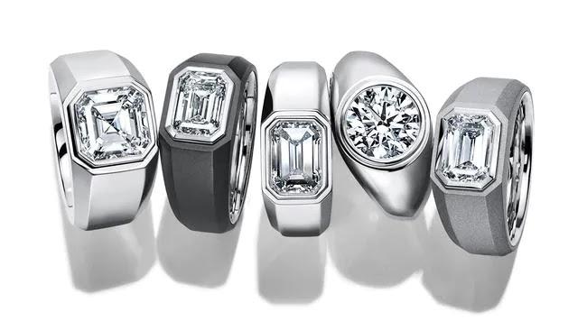 Tiffany & Co. lança linha de alianças masculinas