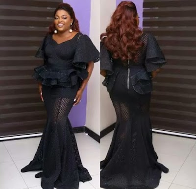 Funke Akindele Looks Dope In Her Outfit To Future Award 2017(photos)