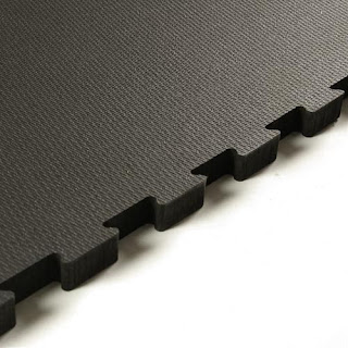 Greatmats weigh room interlocking floor home gym rubber