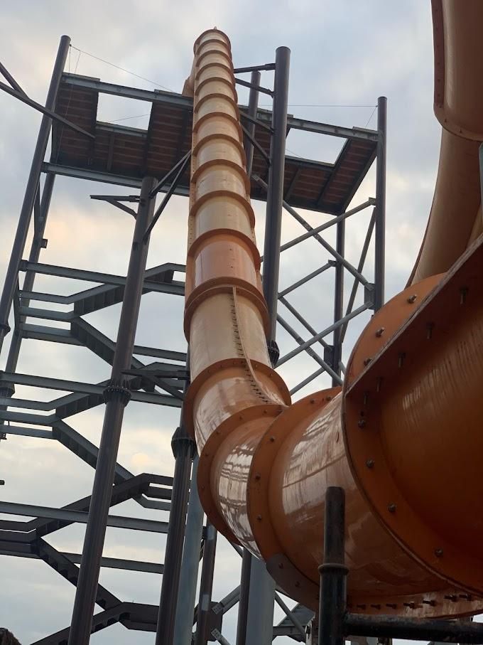 Acqualinda, em Andradina (SP), começa a montagem das atrações - Atualização 2