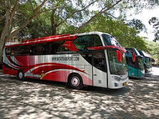sewa bus Jogja tour