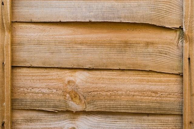 Old brown wooden fence texture