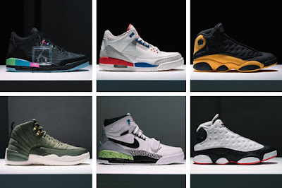acc7d440918789 Jordan Brand unveiled select styles for the upcoming Fall 2018 season. The  collection celebrates a love for the game with a full Air Jordan 1  franchise