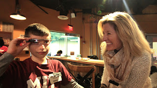 A Novel Google Glass Autism App (Interview)