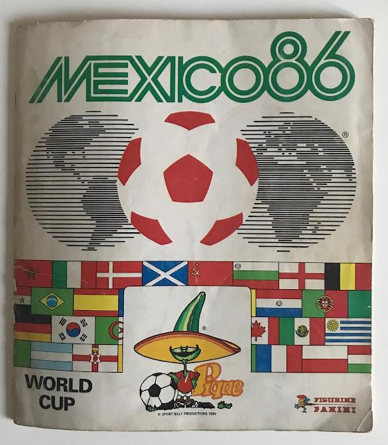 Copertina Album Messico 86