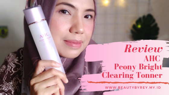 Review AHC Peony Bright Clearing Tonner