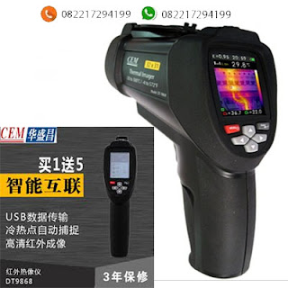 Camera Thermal CEM DT-9868 Cek Mahar