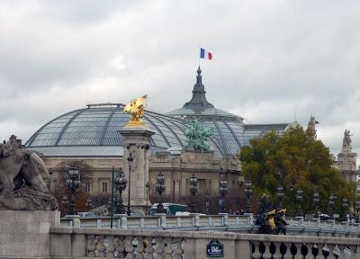 Bridge of Alexandre III in Paris by Igor L.