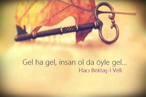 Hacı Bektaşi Veli Sözleri /Resimli /Kısa /Facebook