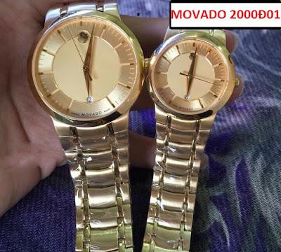 Đồng hồ đeo tay Movado 2000Đ01 sợi dây kết nối tình yêu của hai người