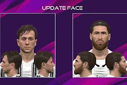 Bernardeschi & Sergio Ramos Face - PES 2017