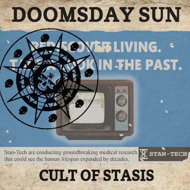 Doomsday Sun - Cult Of Stasis