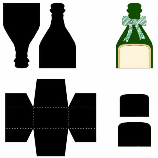 Geschenkverpackung Designvorlage für Cameo