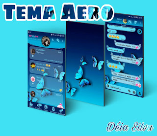 Butterfly Theme For YOWhatsApp & Fouad WhatsApp By Deia Silva