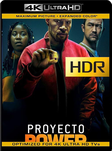 Proyecto Power (Project Power) (2020) 4K 2160p UHD [HDR] Latino [GoogleDrive]