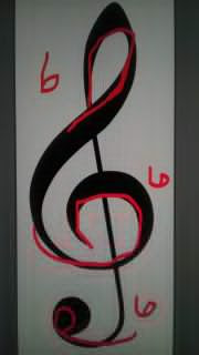 Music note 666