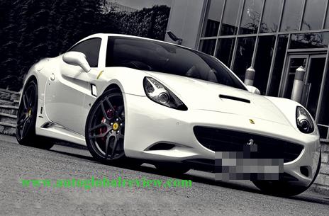 Ferrari California Desain Afzal Kahn 2011
