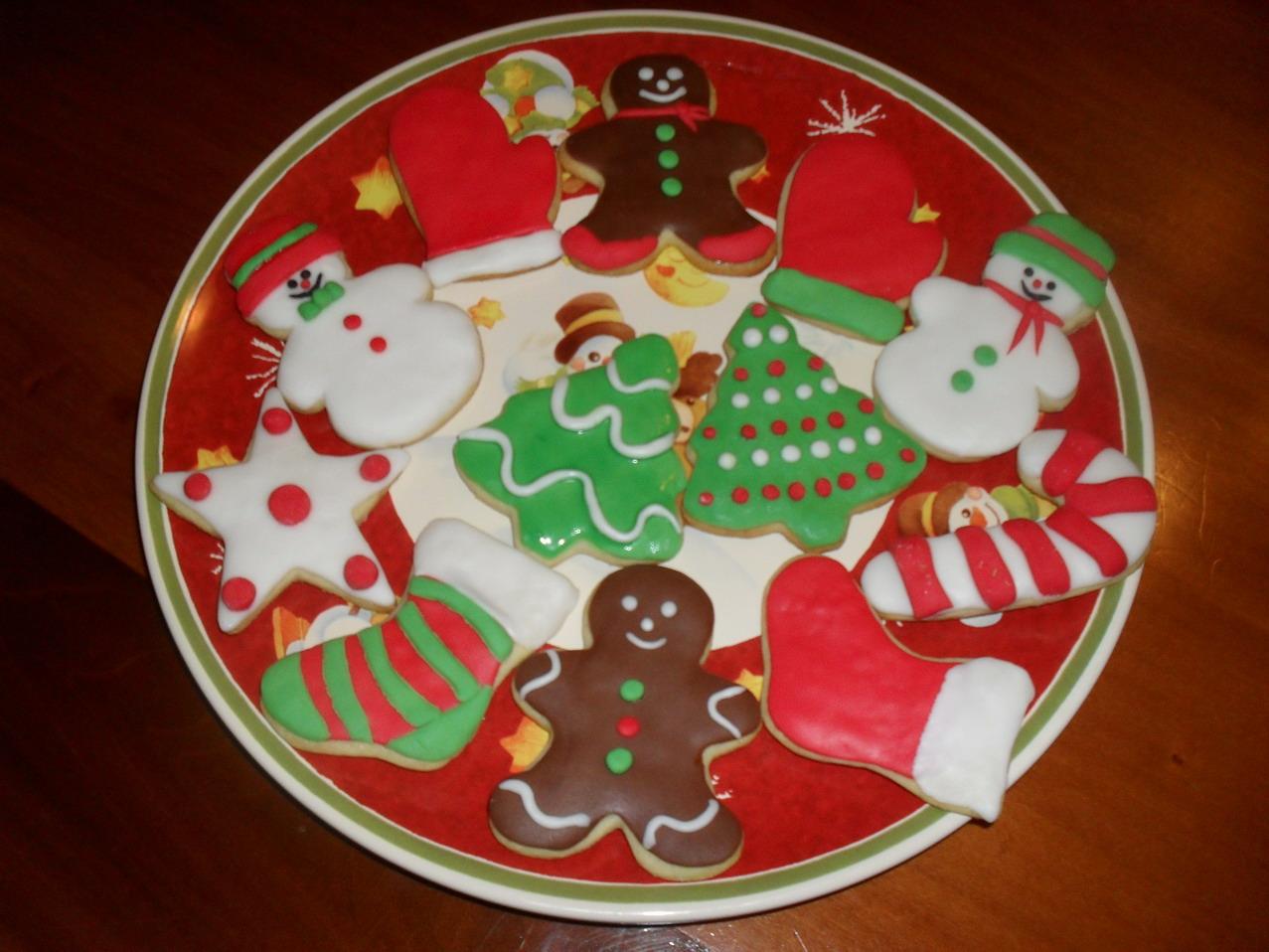 Biscotti Di Natale 1 Uovo.Il Mondo Creativo Di Laura Biscotti Di Natale