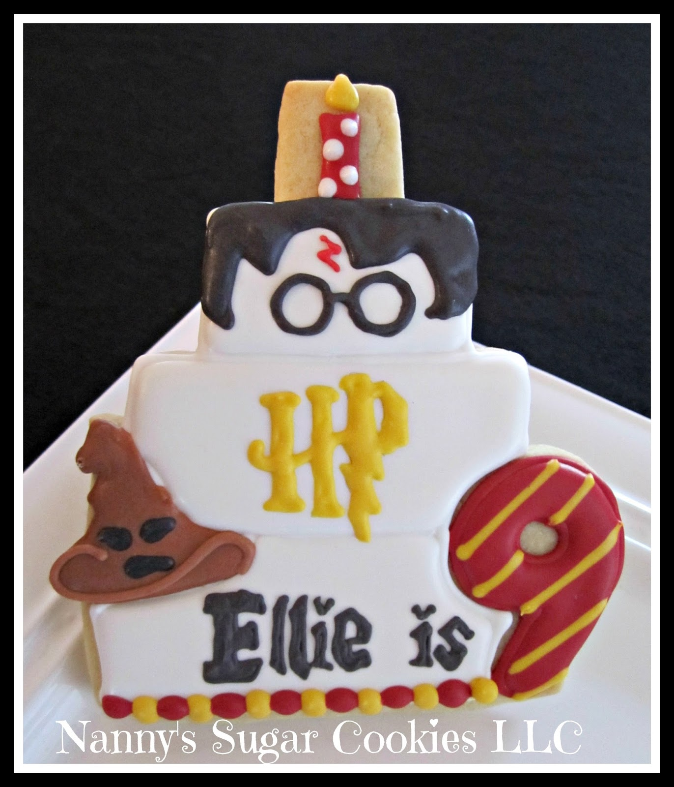 Nanny s Sugar Cookies LLC Harry Potter Themed Birthday