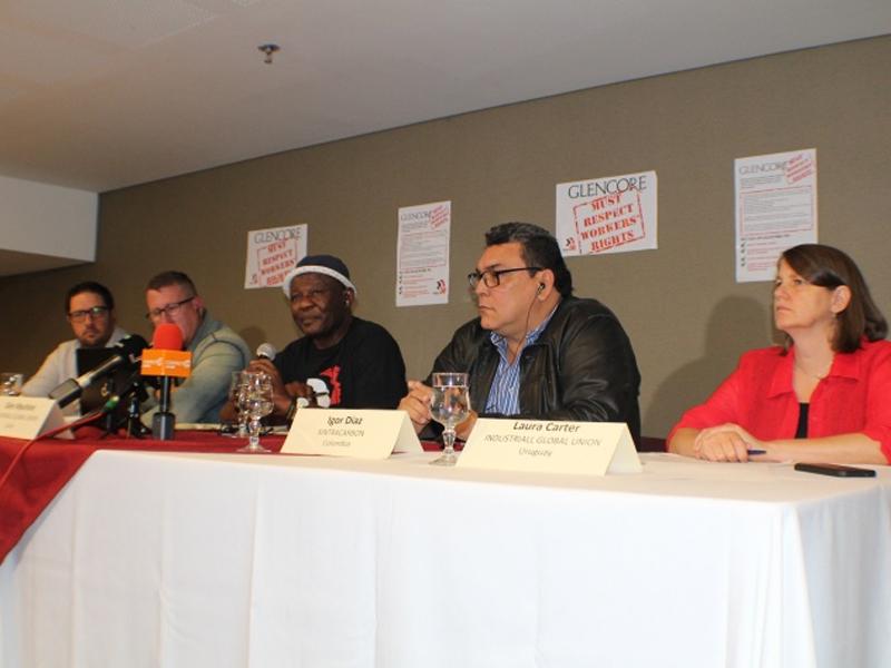 Sindicatos del mundo lanzan campaña global contra las violaciones de Glencore a los derechos de los trabajadores