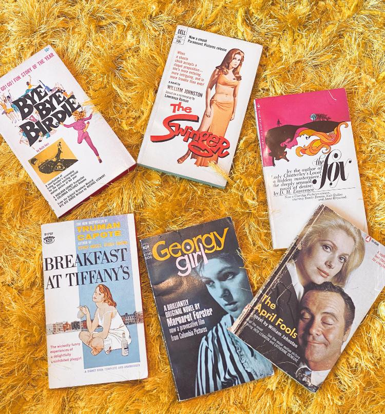 A Vintage Nerd, Vintage Blog, Vintage Blogger, Retro Blog, Retro Blogger, Old Hollywood Blog, Classic Film Blog, Movie Tie-in Books, Vintage Books, Classic Film Books, Movie Books, Vintage Collection, Retro Lifestyle Blog