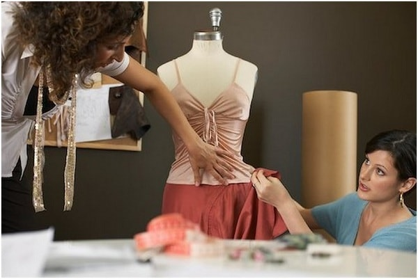 Fashion designer's job