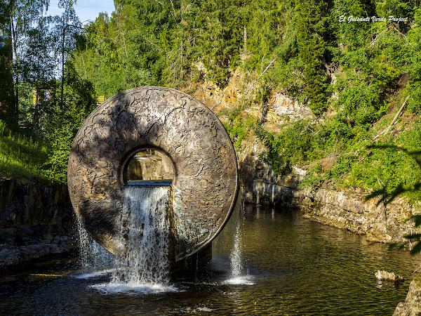 """Kistefos, el """"donut"""" - Noruega, por El Guisante Verde Project"""
