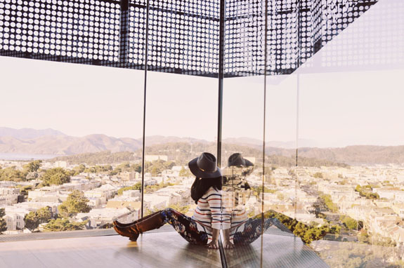 San Francisco Bucket List: peruse American art at the De Young museum, and go up to check out the view from the top of the tower