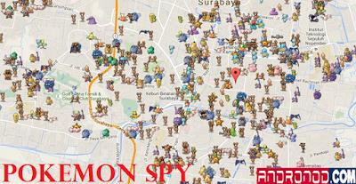 Cara Mengetahui Lokasi Pokemon Menggunakan Pokemon Spy (PokeSpy)