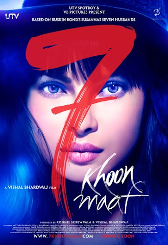 7 Khoon Maaf (2011) Movie Poster