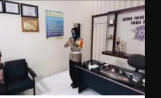 Kasat Lantas Polres Pinrang Akp Dharmawaty Maksimalkan Pelayanan Sesuai SOP dan Protap Kesehatan
