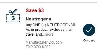 Neutrogena Facial Bar CVS Deal $0.59 7/11-7/17