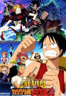 Download One Piece Movie 7 : The Giant Mechanical Soldier of Karakuri Castle Sub Indo