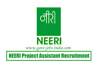 NEERI Project Assistant Recruitment 2020